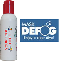2 fl oz. Mask Defog Bottle WITH IMPRINT (24 pc .Minimum)