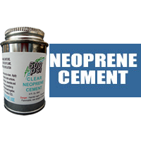 4 fl. oz. Clear Neoprene Cement