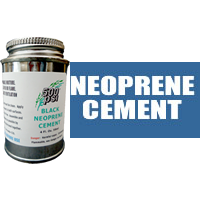 4 fl. oz. Black Neoprene Cement