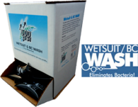 1 fl. oz. Wet Suit Wash Pillow Pack 50 pc. Cardboard Display